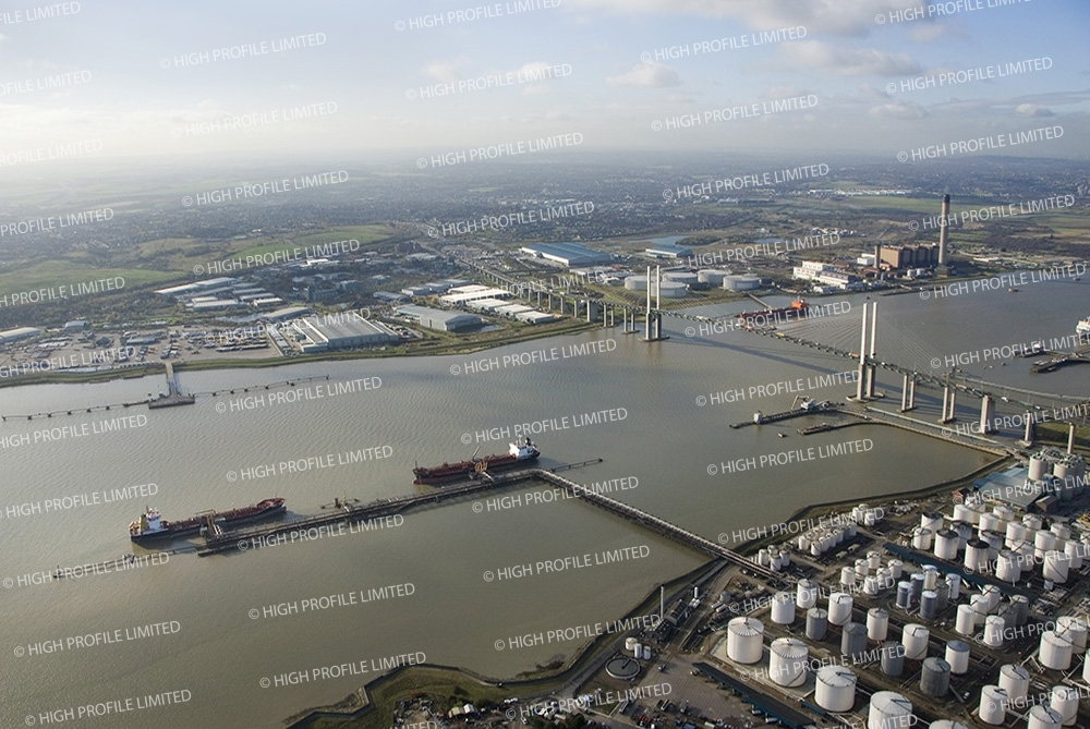 Aerial photograph of Crossways Business Park