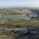 Aerial photograph of Ebbsfleet Garden City