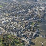 Aerial photograph of Gravesend Town Centre