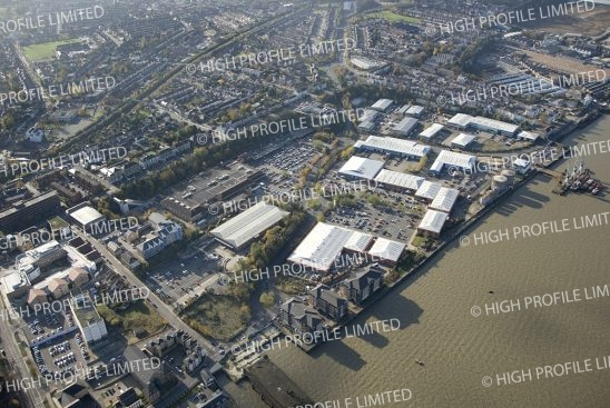 Aerial photograph of Imperial Business and Retail Park