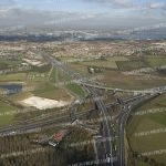 Aerial photograph of Darenth Interchange